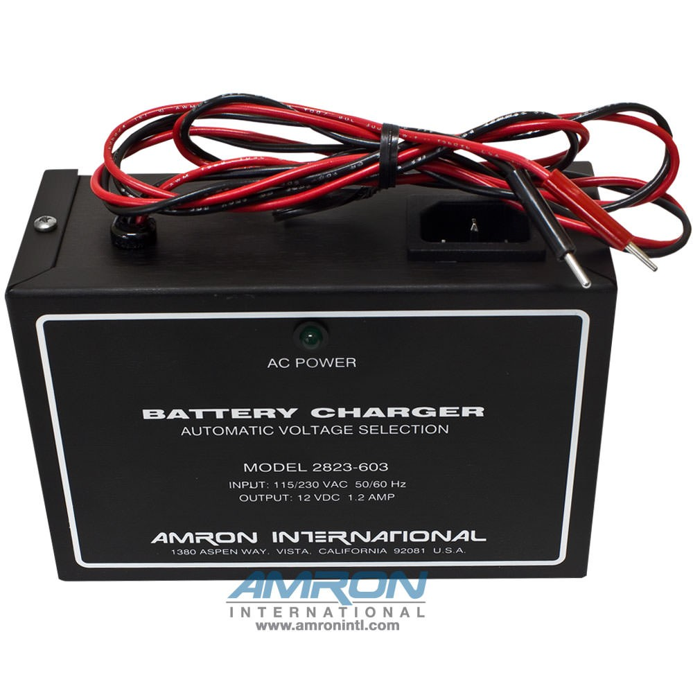 Amron 2823-603 External Battery Charger - Front