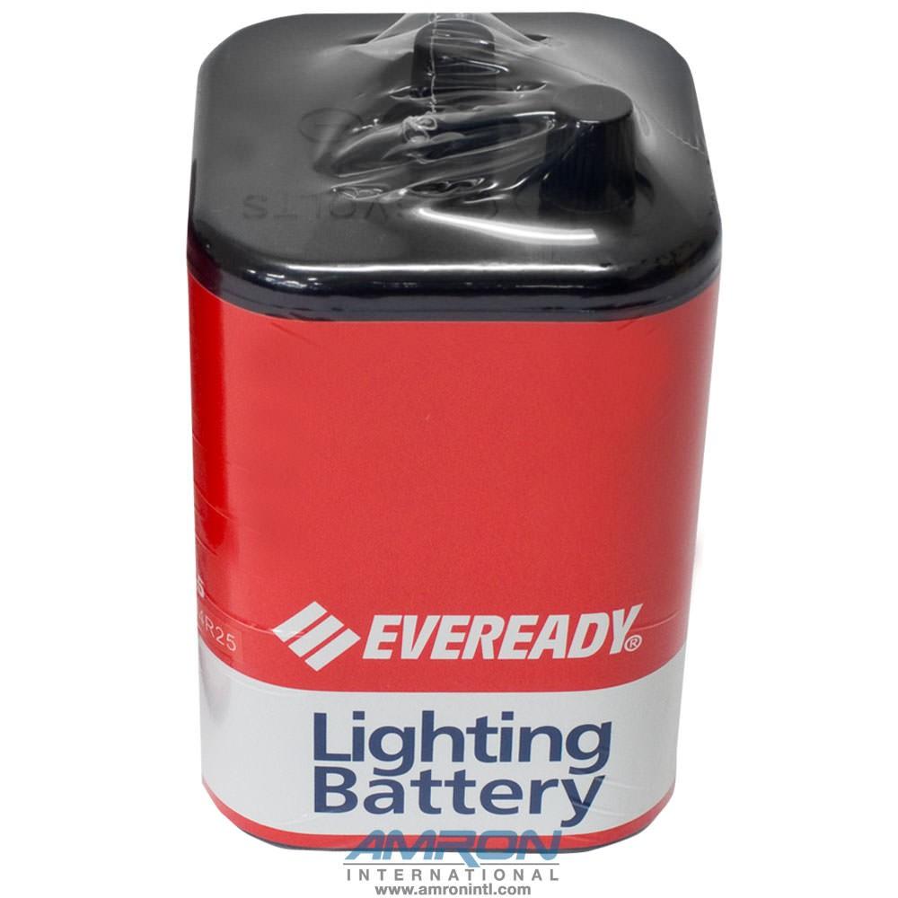 Amron 2890-01 6-Volt Non-Rechargeable Screw Top Lantern Battery