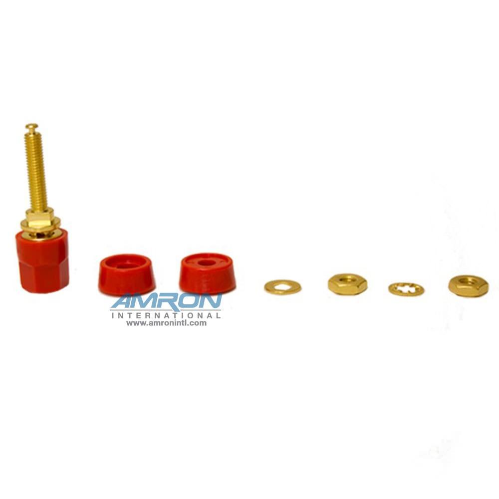 Amron International 14002R Series 5-Way Binding Post Red