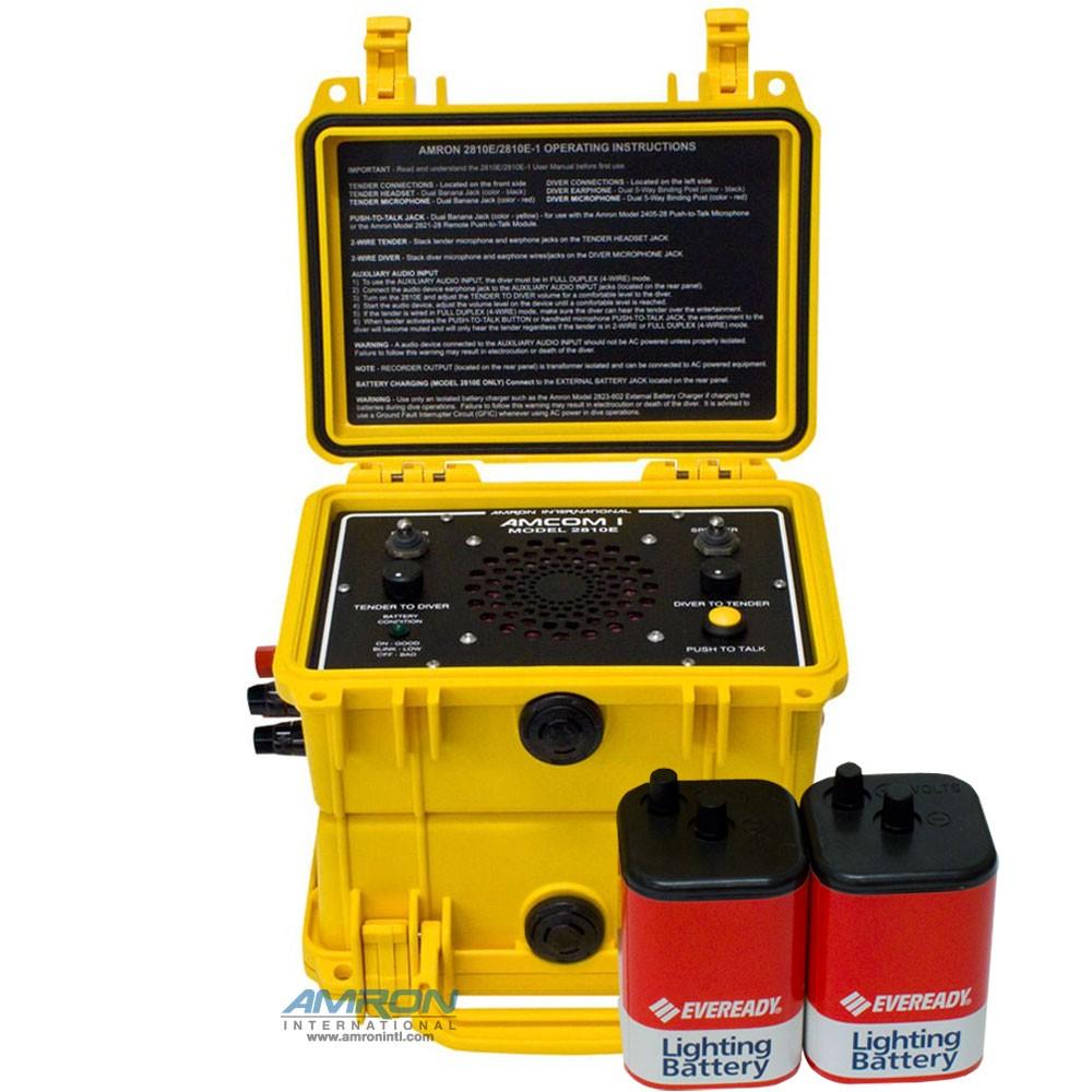 Amron 2810E-1 Amcom ™ I Communicator with Non-Rechargeable Battery