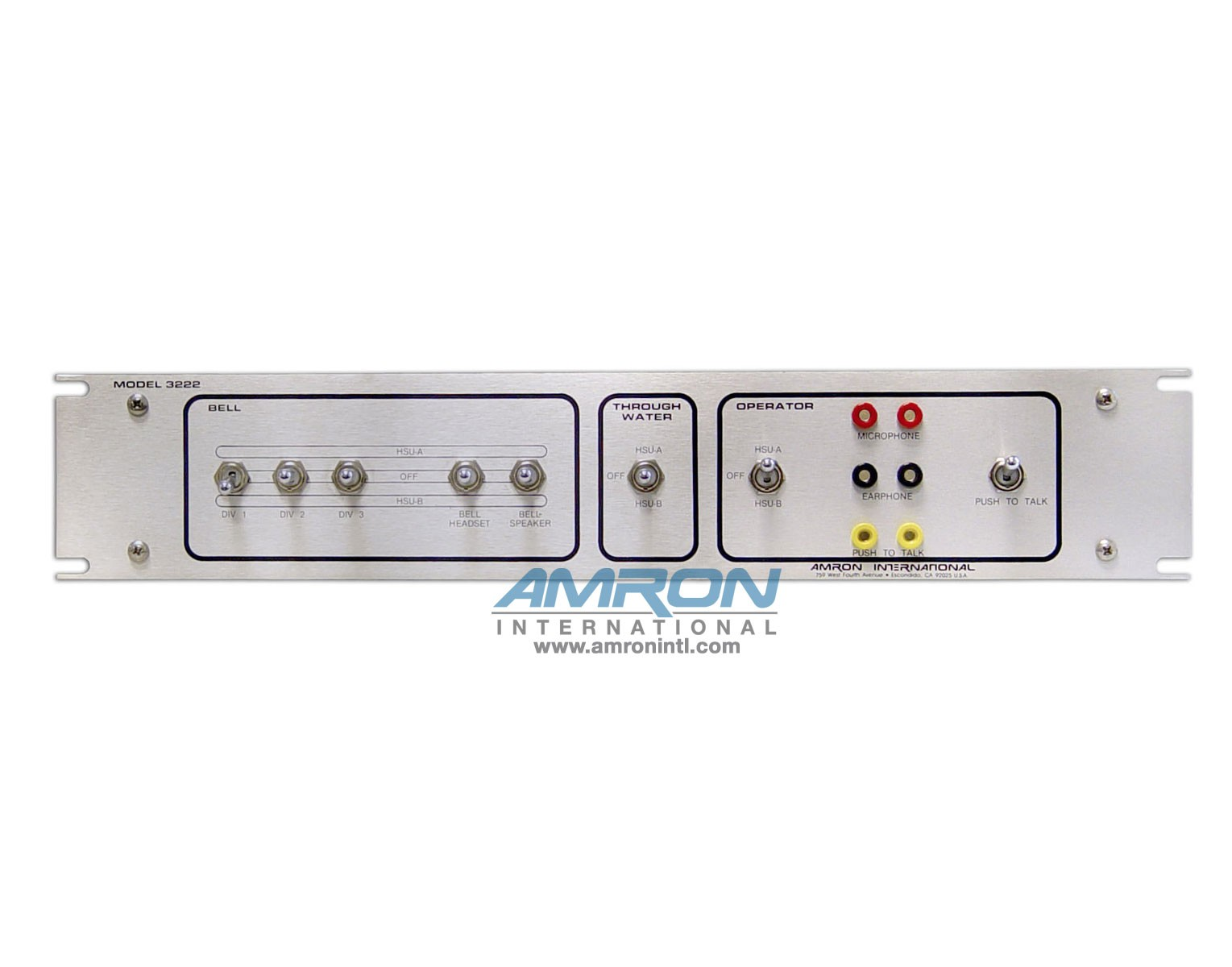 Amron International Model 3222 Bell Communication Routing Panel-Front