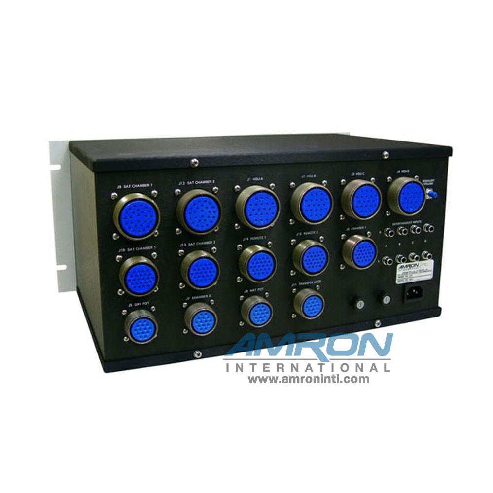 Amron International Model 3307 Communication Routing Panel - Rear View