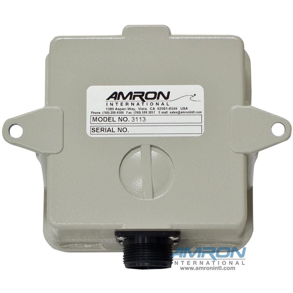 Amron Model 3113 Living Chamber Speaker - Back