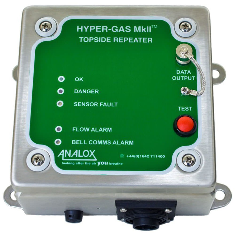 Analox Topside Repeater for Hyper-Gas MkII DD1F39BJ89N003