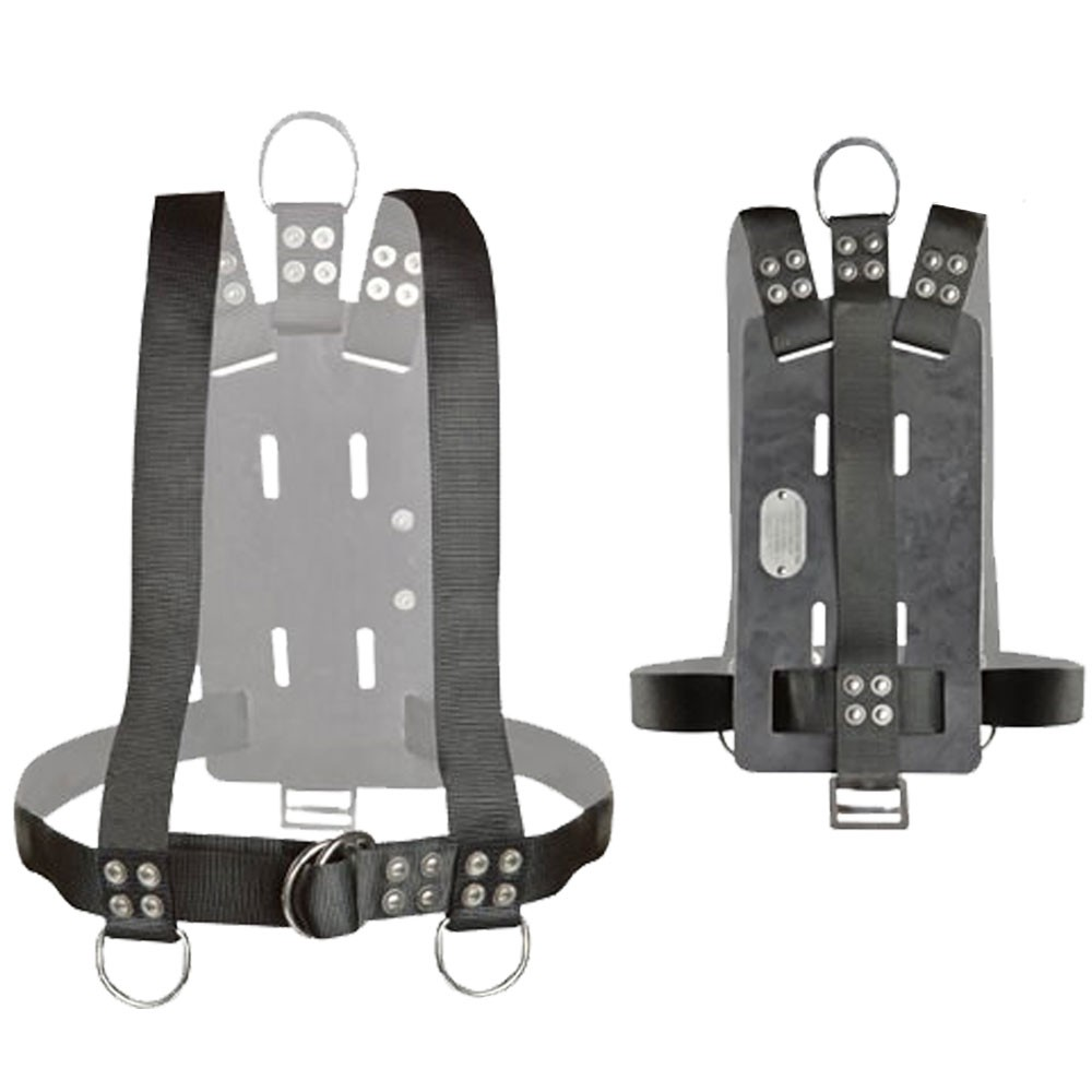 Atlantic Diving Equipment BHBP-700 Bell Harness Backpack - Medium