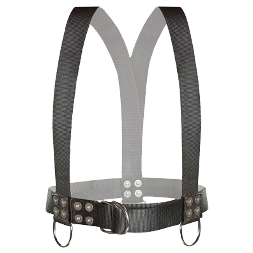Atlantic Diving Equipment Diving Safety Harness w/ Shoulder Adjusters - SH-100-SA-S