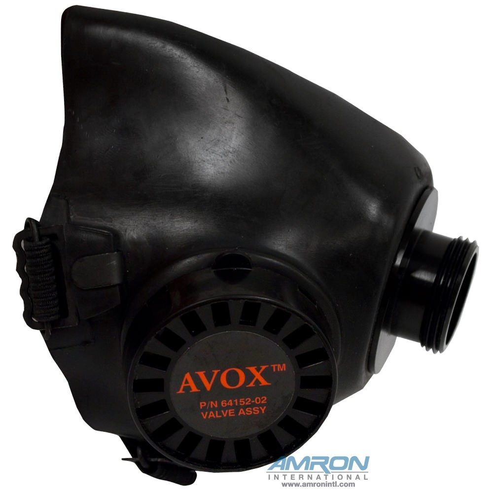 Avox 803600-03 Duo Seal Inhalator without 1st Stage Regulator without Microphone without Hose Assembly - Side