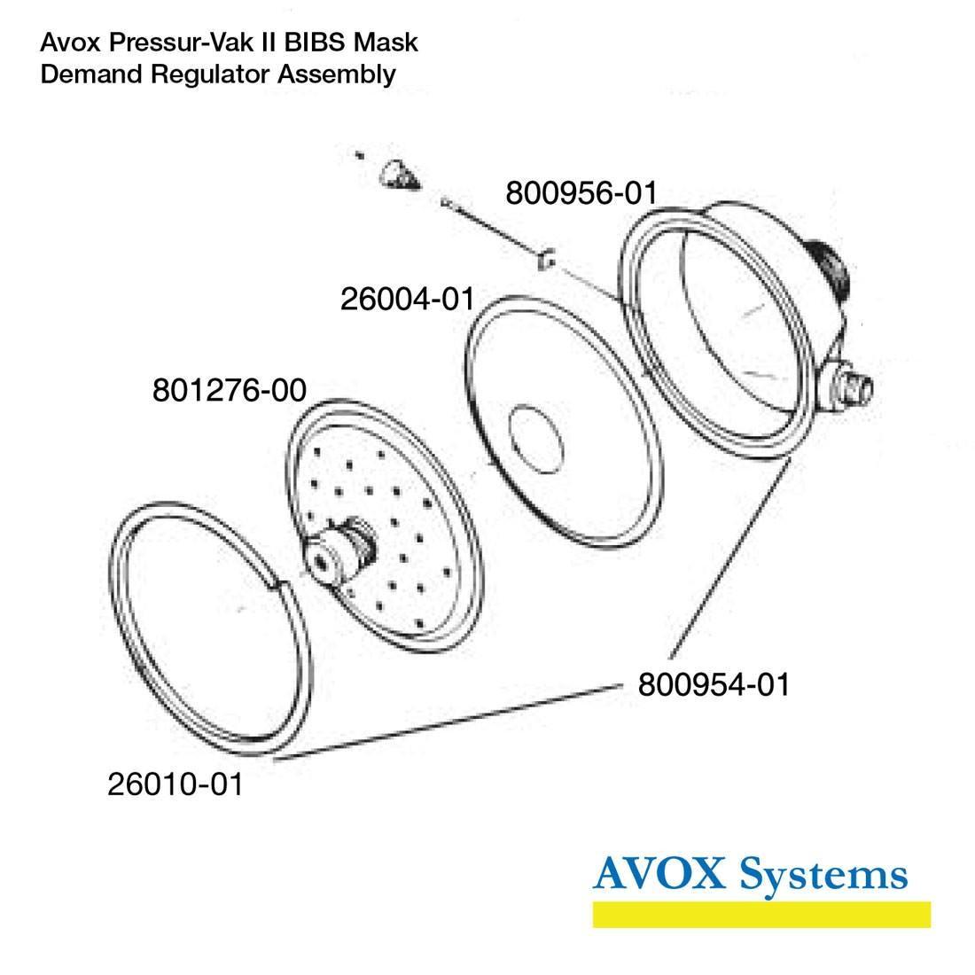 Pressur-Vak II Demand Regulator Repair Kit - Spares
