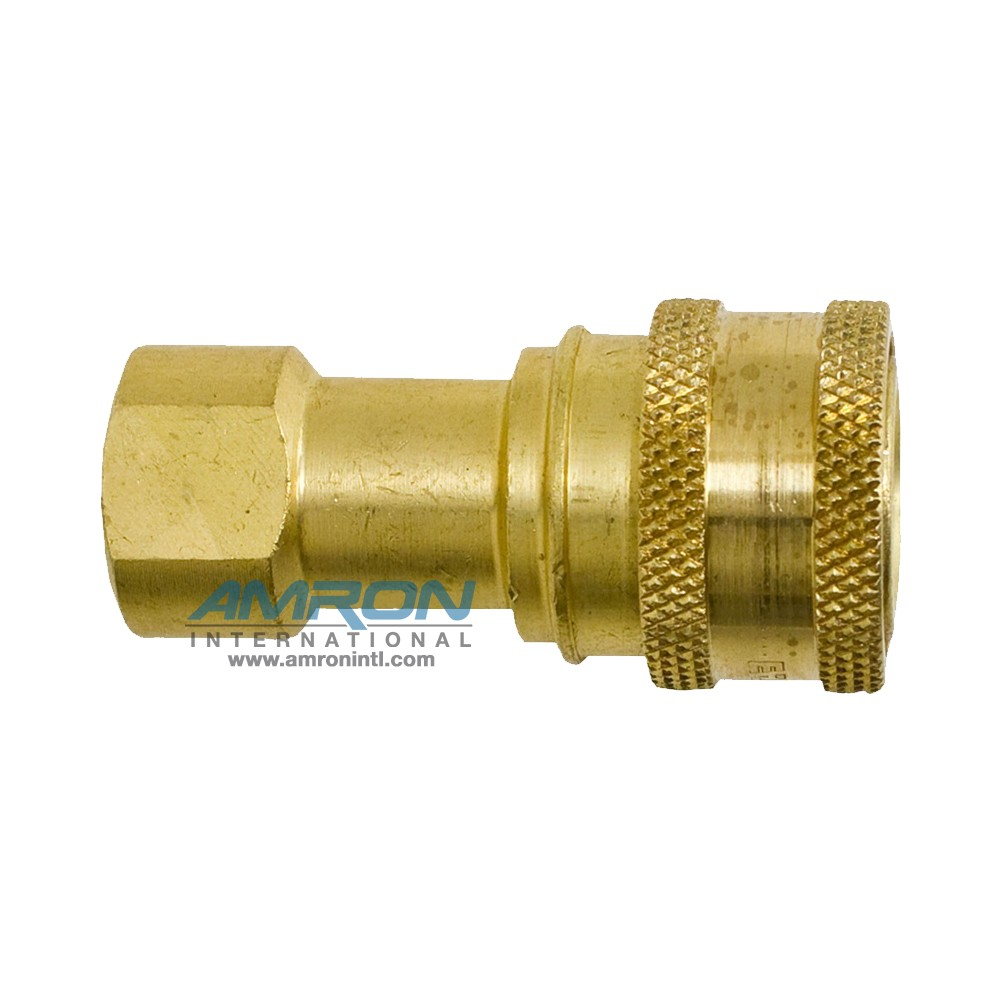 Hansen 2 HK SRS Socket 2-Way 1/4 in. FNPT Brass B2-H16
