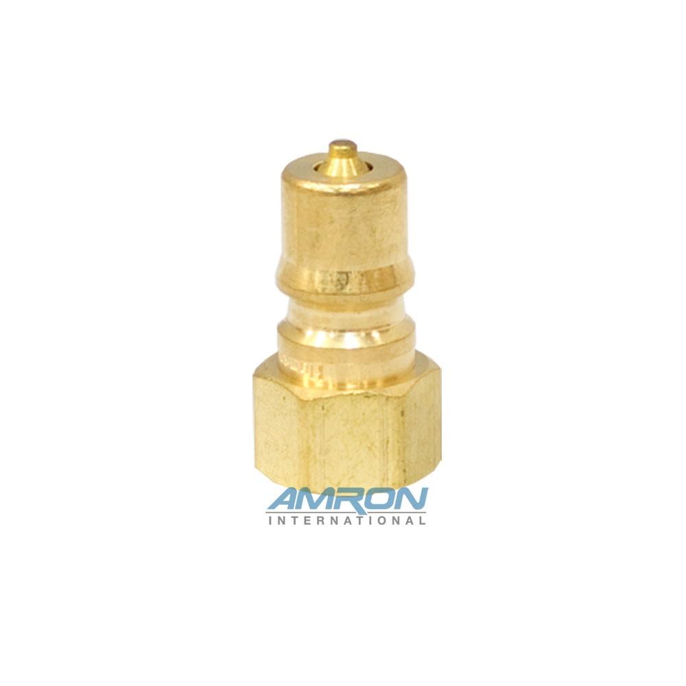 Hansen B2-K16 - Two Way Plug - 1/4 in. FNPT Plug in Brass