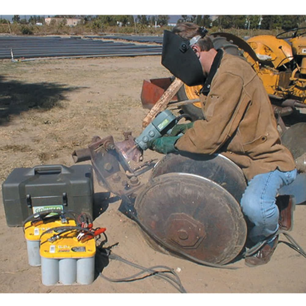 Portable Aluminum Welding : Broco goweld portable battery powered mig welder kit