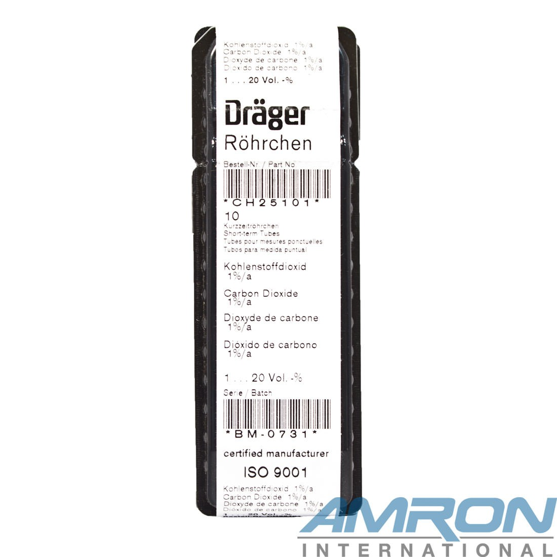 Drager Tube Carbon Dioxide 1%/a