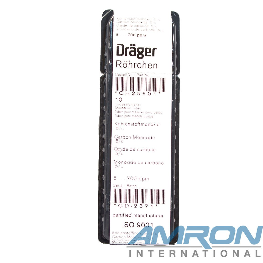 Drager Tube Carbon Monoxide 5/c