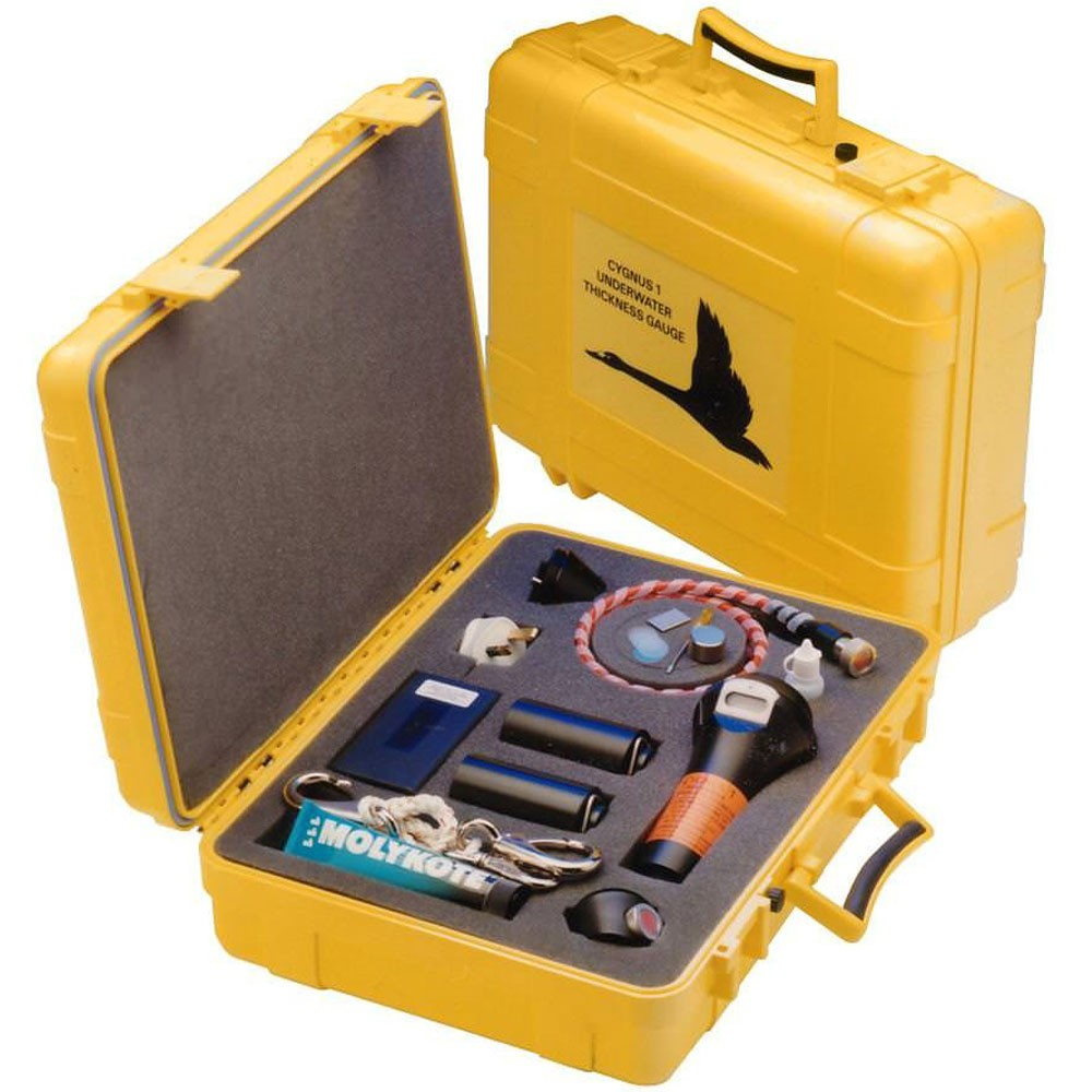 Cygnus 1 Underwater Digital Thickness Gauge with Heavy Duty Remote Probe and Topside Communication Capability (Display Rrepeater and Datalogging Software is not included)