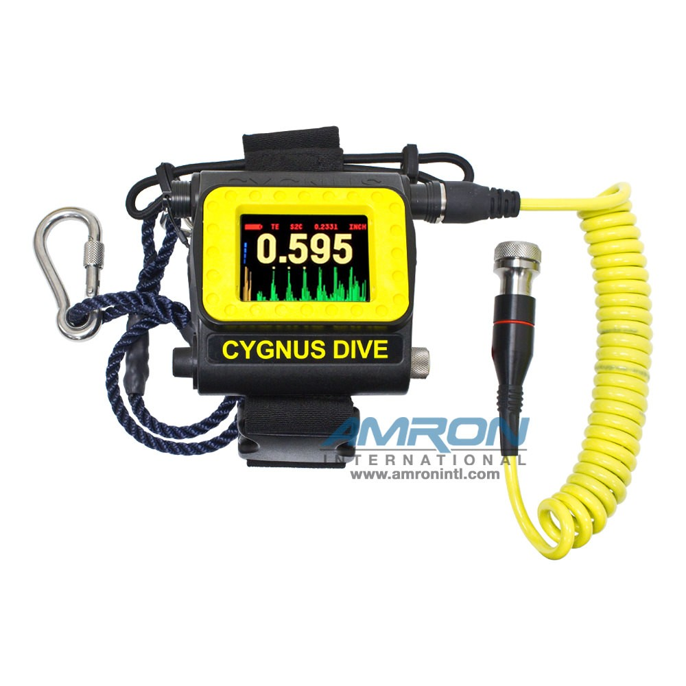 Cygnus Dive Mk2 Wrist-Mountable Underwater Thickness Gauge w/ Remote Probe CYG-001-7210