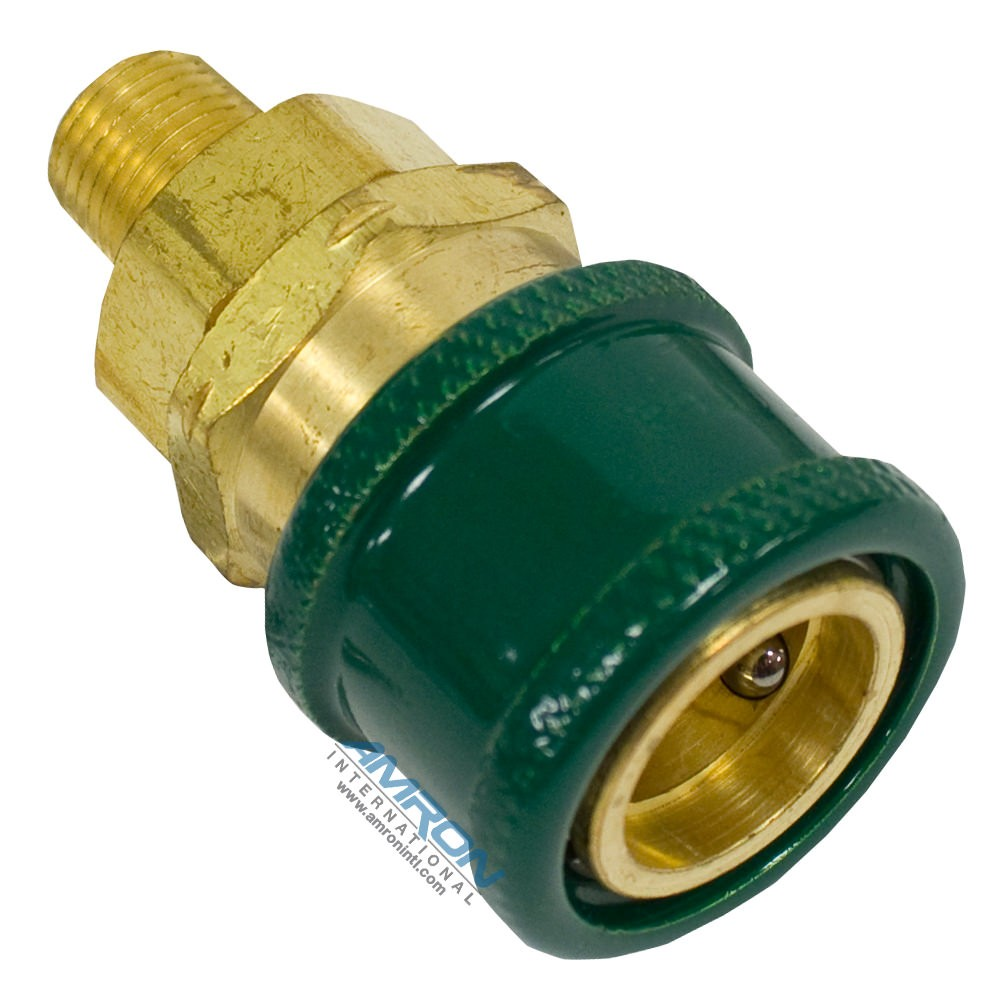 Amron International 18969-00 Oxygen Cleaned Quick Disconnect Socket