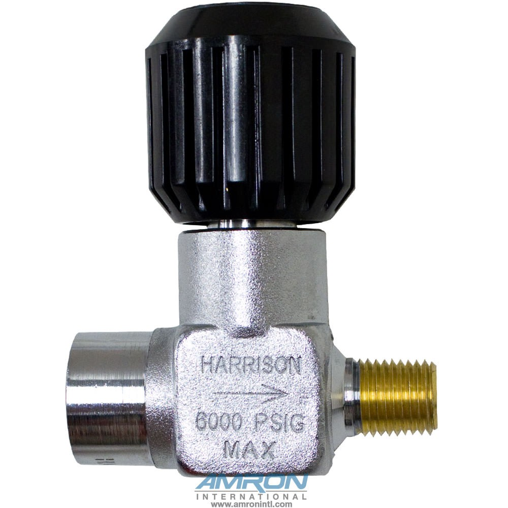 Harrison HLV-1 Female/Male NPT Standard Line Valve - 1/4 in. 6000PSI