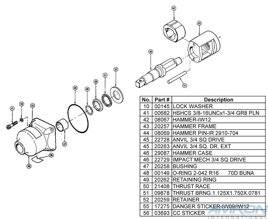 Stanley Hydraulic Underwater Impact Wrench IW12 Blowapart Part 3