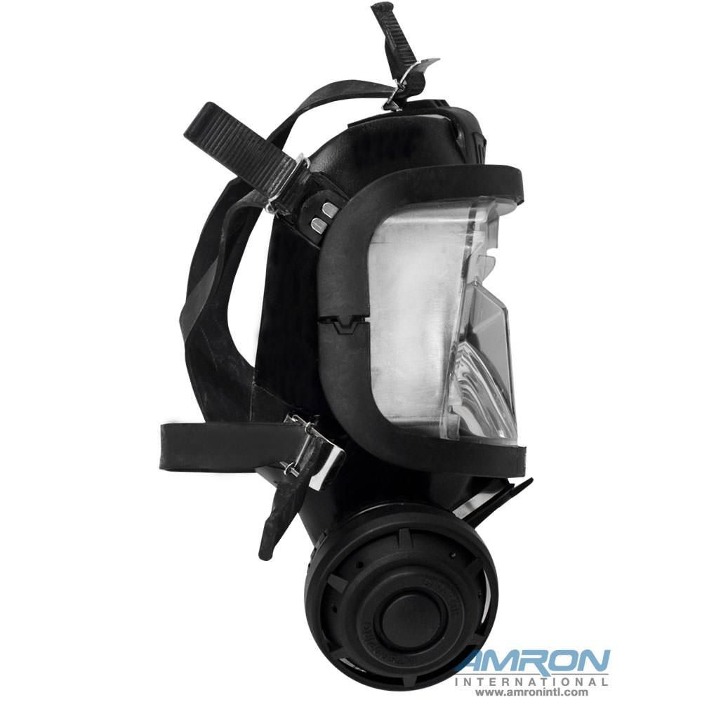 Interspiro AGA Divator MK II Full Face Mask with Demand Regulator - Silicone - Black - 96319-05