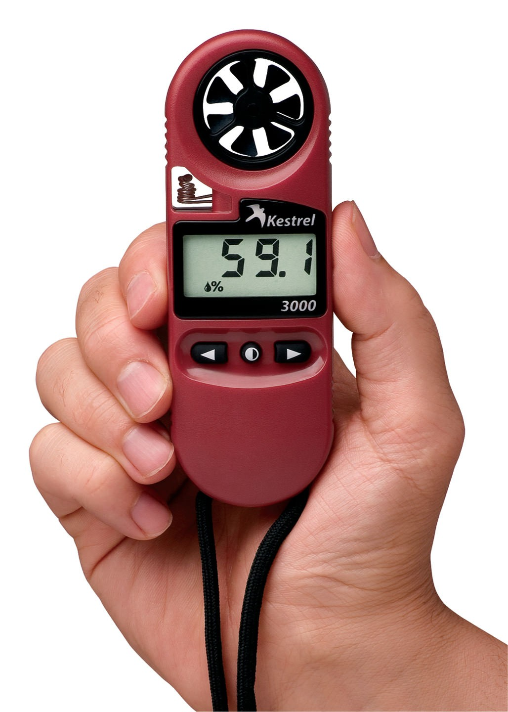 Kestrel 3000 Pocket Wind Meter Red NEK-0830