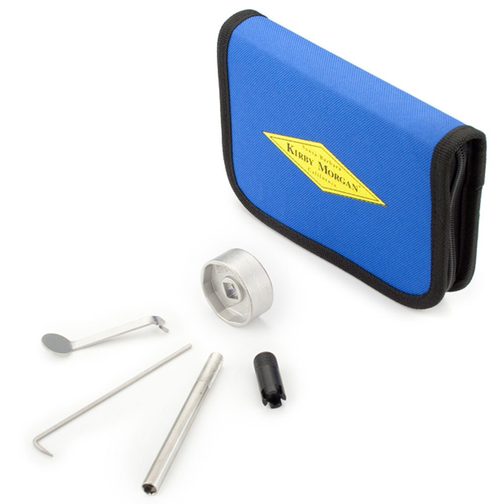 Kirby Morgan Regulator Tool Kit with Pouch (P/N: 525-768)