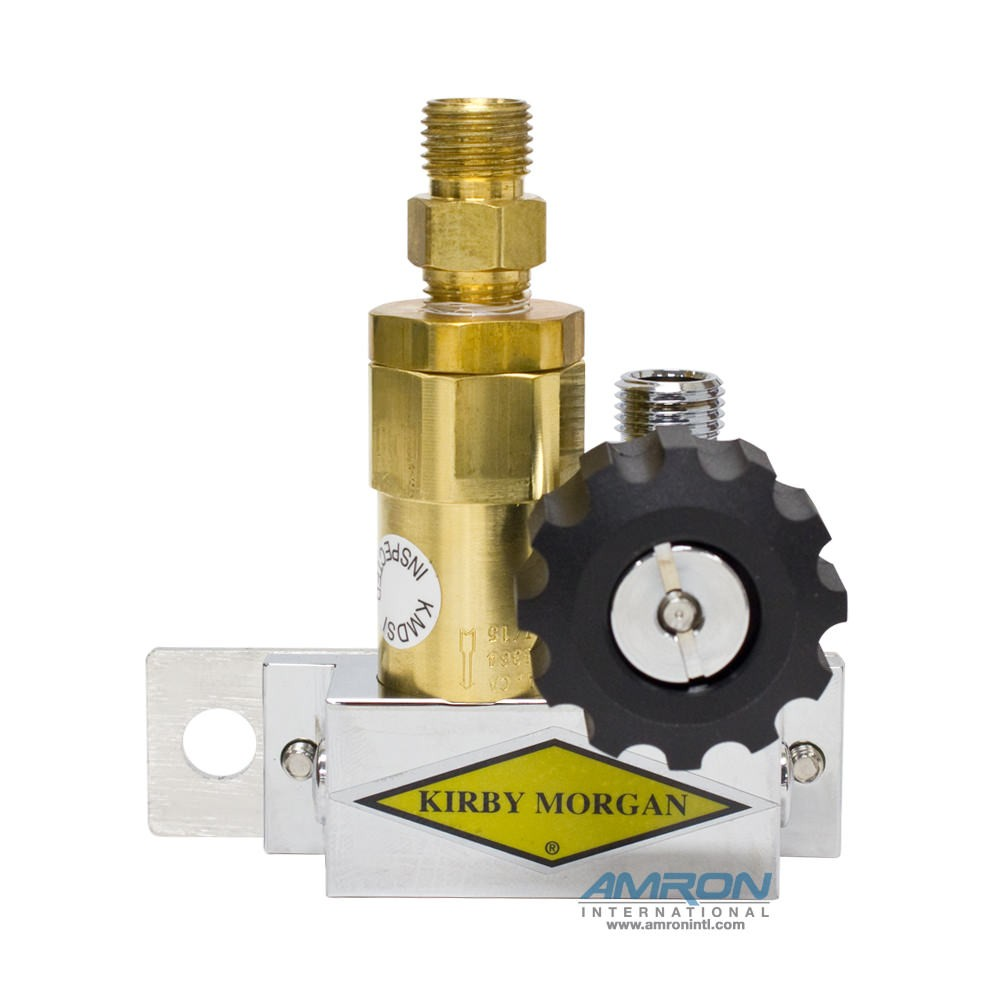 Kirby Morgan EXO® Manifold Block with Standard SCUBA Fitting 300-145