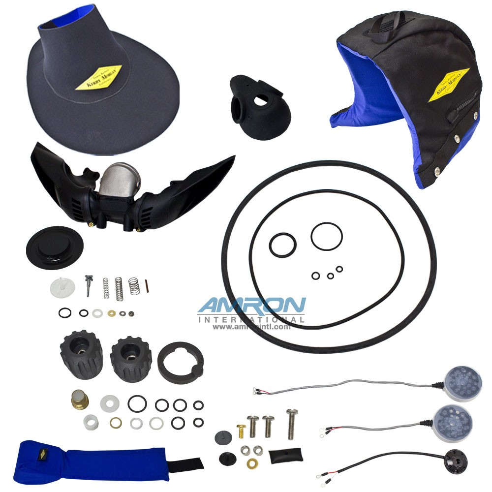 Kirby Morgan Helmet Spares Kit 17K and 37 Dive Helmets 525-347