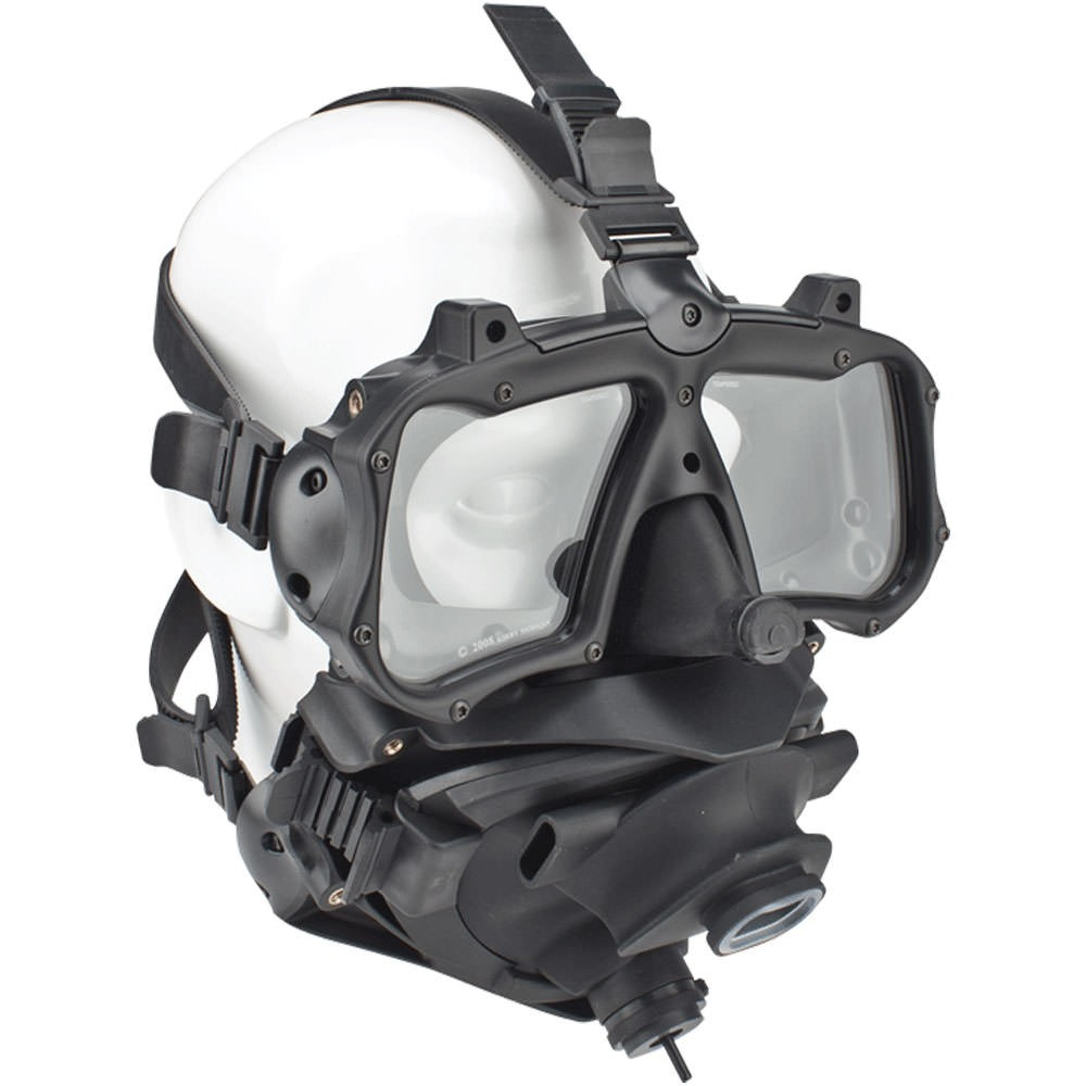 Kirby Morgan M-48 Mod 1 Full Face Mask With Pod 800-150