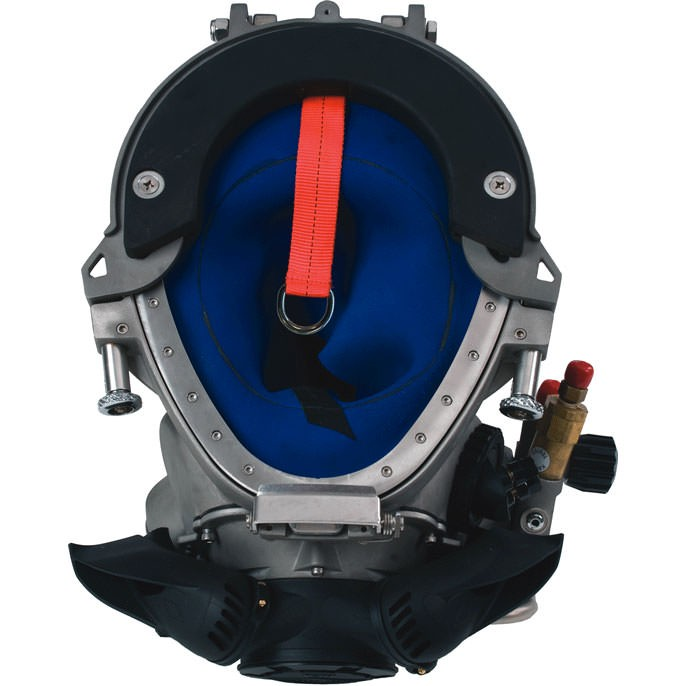 Kirby Morgan 77 Commercial Diving Helmet  - Bottom
