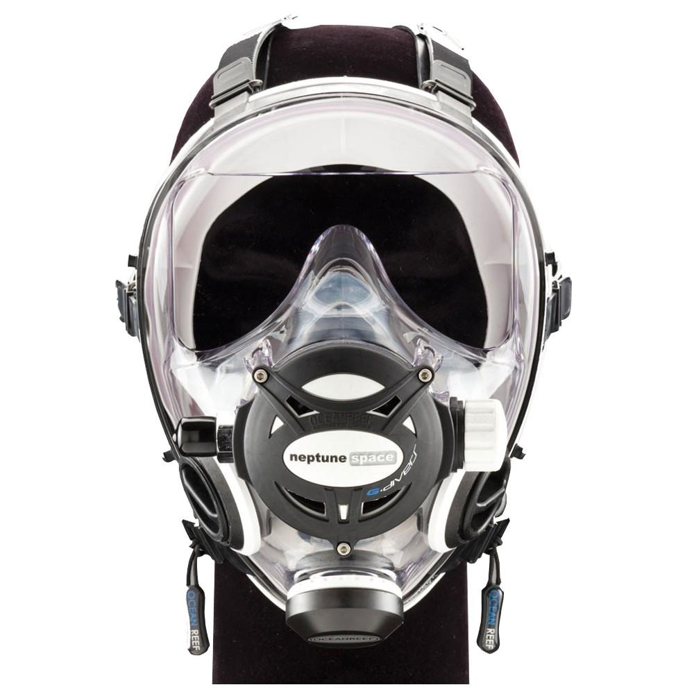 OCEAN REEF Neptune Space G Diver Full Face Mask - White Medium/Large ORI-OR025011