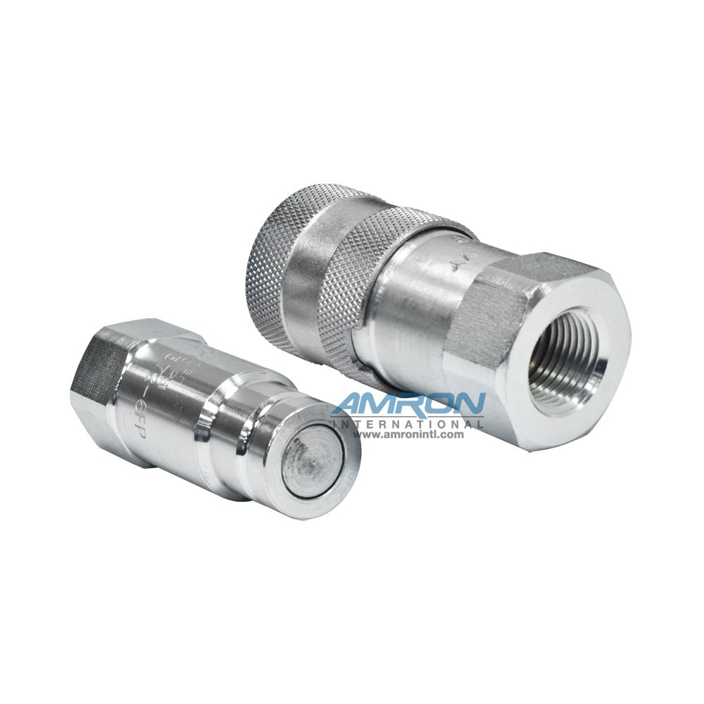 Stanley 03971 Coupler Set for BR87 CO23 Hydraulic Underwater Tools - 3/8 in. NPT