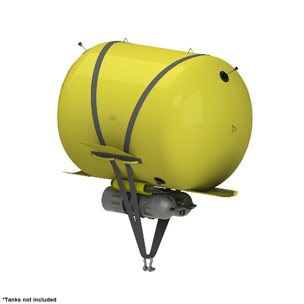 Subsalve Lift Bag for Mark V Orca - 2,500 lbs (1,200 kg) Lift Capacity- Tanks not included