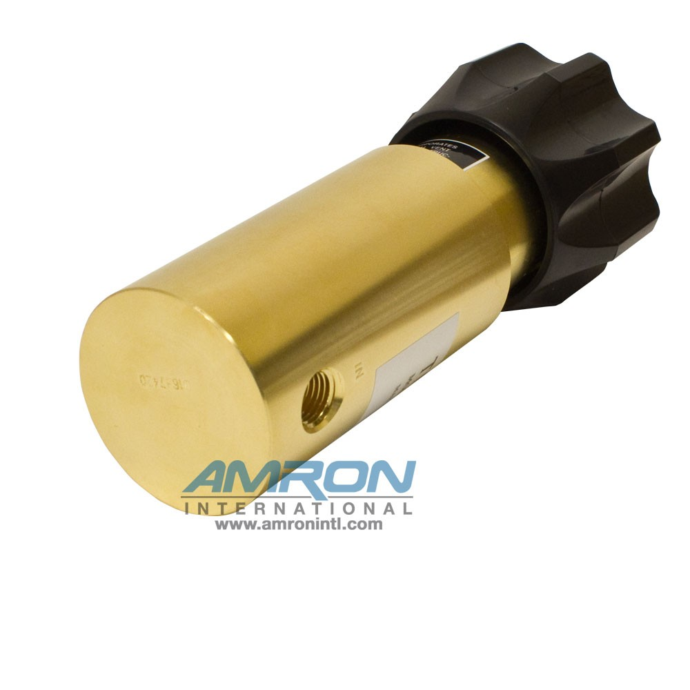 Tescom Pressure Reducing Regulator Brass 25-4,000 PSIG 44-1115-24