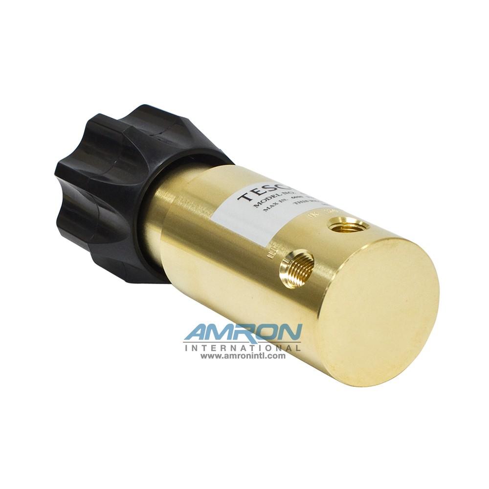 Tescom Pressure Reducing Regulator 0-800 PSIG – Brass 44-1112-24