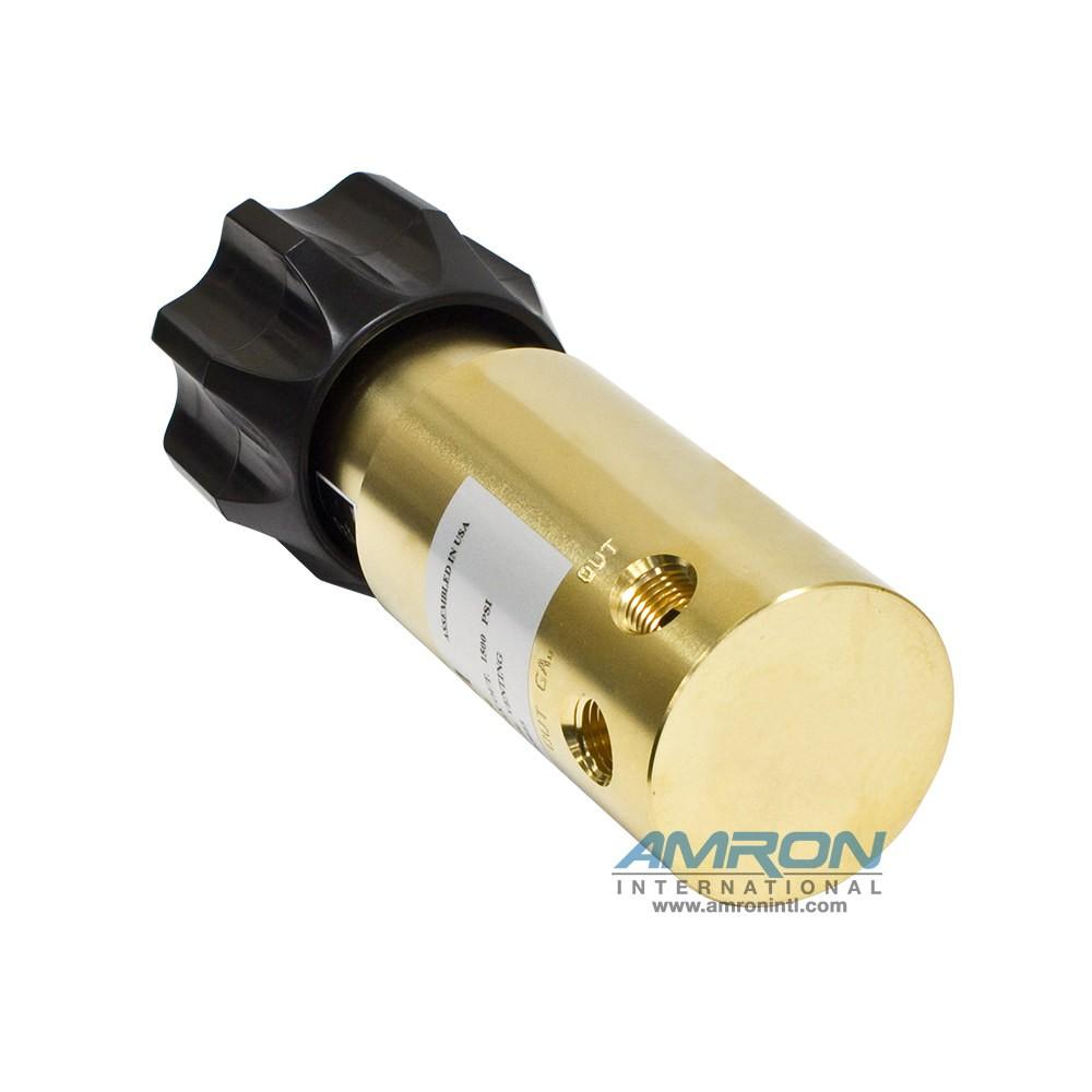 Tescom Pressure Reducing Regulator 10-1,500 PSIG – Brass 44-1113-24