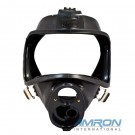 Interspiro AGA 460-190-544 Mask Body Assembly - Black Silicone