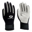 Deep See Waterfall Diving Gloves Black/Charcoal - Large DEP-3341-5