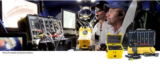 The team at Extreme Divers use Amcom Communicators on their commercial diving jobs.
