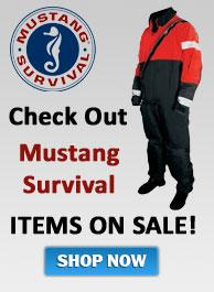 Mustang Survival Items On Sale Now