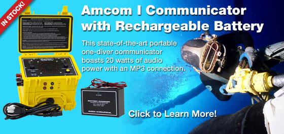 Amron International Amcom I Communicator with Rechargeable Battery