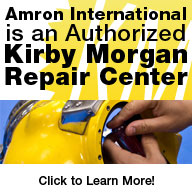 Amron International is an Authorized Kirby Morgan Repair Center