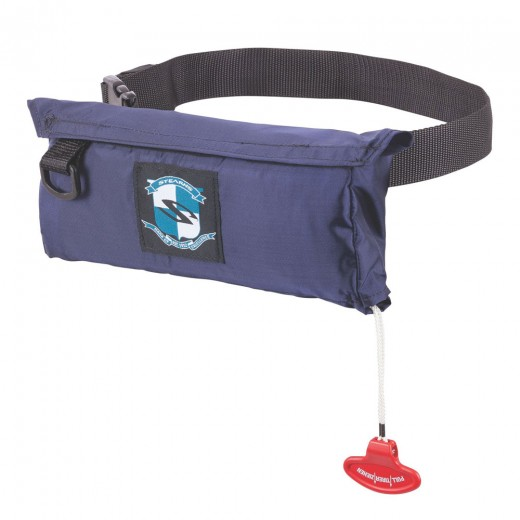 Inflata-Belt Max Automatic/Manual - Navy - Adult Universal