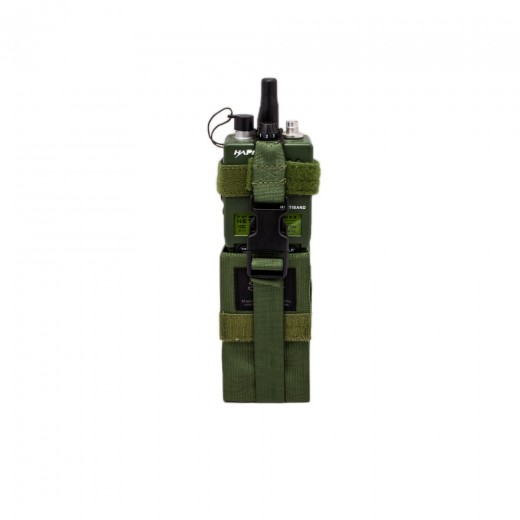 Radio Pouch Large Olive Drab