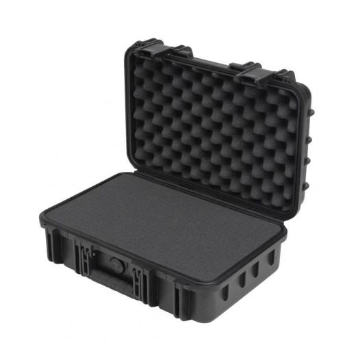 3I-1610-5B-C MIL-STD Waterproof Case - 5 in. Deep - Cubed Foam - Black