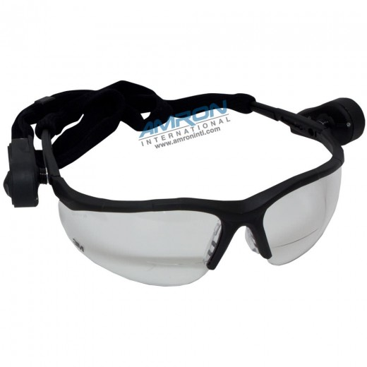Light Vision 2 Protective Eyewear with Clear Anti-Fog Lens and Gray Frame (+1.5)