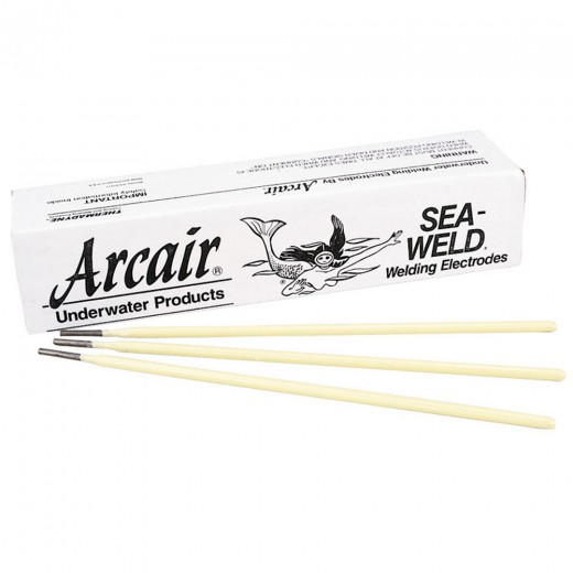 Sea-Weld® Carbon Arc Welding Electrodes 1/8 in. x 14 in. - 150 Rods