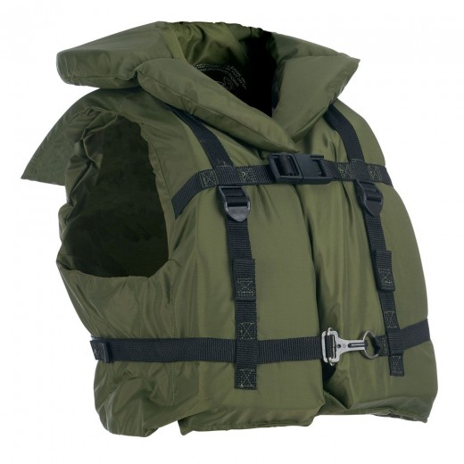 Inherently Buoyant Vest - Green - Adult Universal