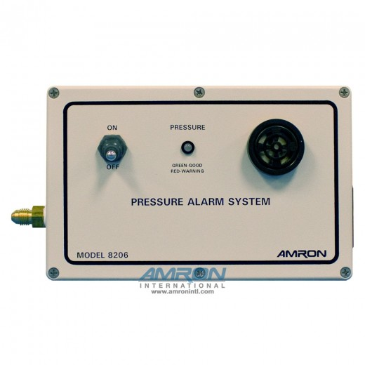 8206-D Low Air Pressure Alarm System - Trip Point 22.5 to 112 PSI