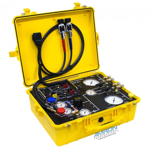 Model 8211 Compact Two Diver Surface Command Unit (SCU) Air Control System