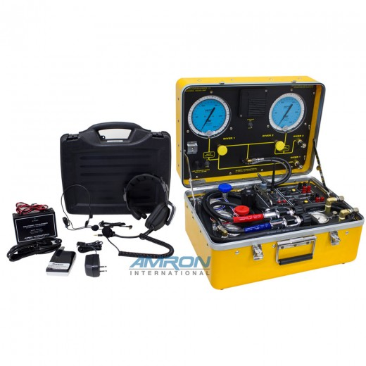 Amcommand ™ II Model 8225-HP/28A Two Diver Air Control and Communications System with Wireless Tender